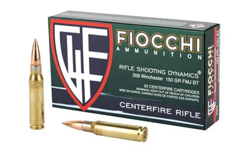 Fiocchi Ammunition - 308 - 150 Grain - 20 Rounds Per Box - 308A-FIO