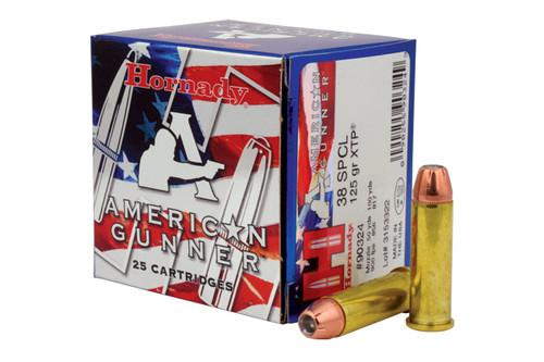 Hornady Ammunition - 38SP - 125 Grain XTP - 25 Rounds/Box - 90324