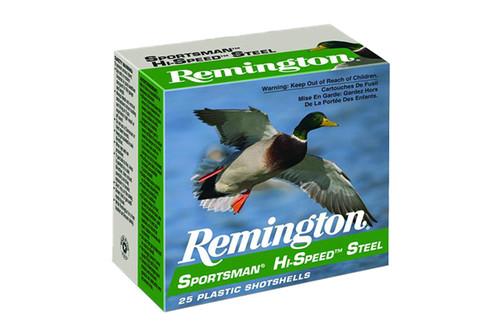 Remington Ammunition - Sportsman Hi-Speed Steel - 12 Gauge - 3-1.25-BB - SSTHV12HMB