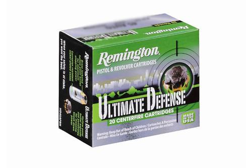 Remington Ammunition - Ultimate Defense - 9MM - 124 Grain - 20Rds/Box - 28935