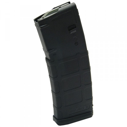 This is a black M2 30 round AR-15 magazine .223 / 5.56, made by Magpul.