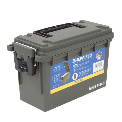 SHEFFIELD Ammo Boxe SHE12626