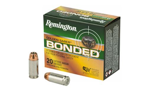 Remington Ammunition - Golden Saber Bonded - 40 S&W BJHP - 180 Grain - 20Rds/Box - GSB40SWBB