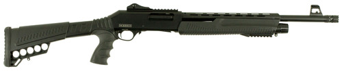 "This is a Dickinson Shotgun known as the Defense chambered in 12 Gauge 3"", Black, model XX3D2."