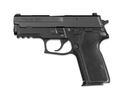 This is a Sig Sauer DA/SA known as the P229 chambered in 9MM, Black, model 229R-9-BSS.