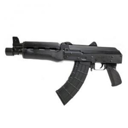 This is a Zastava AK Pistol known as the ZPAP92 chambered in 7.62X39, Black, model ZP92762M.