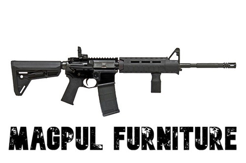 Colt AR-15 Rifle - CR 6920 - 5.56 Nato - Magpul Furniture - CR6920MPS-B