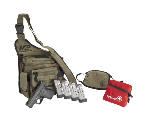 Smith & Wesson Pistol - M&P Shield - Bug Out Bag Bundle - 9mm - 13383