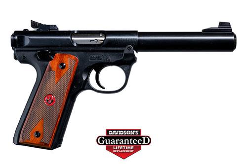 Ruger Mark IV - 22/45 - .22 lr - Wood Grips - 40140