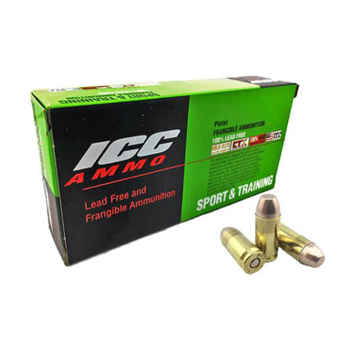 Atomic Ammunition - 40 S&W - 125 Grain - 50Rds Per Box - ICC40125CTNT
