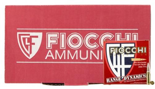 Fiocchi Ammunition - Range Dynamics - 308 FMJBT - 150 Grain - 100 Rounds Per Box - 308ARD