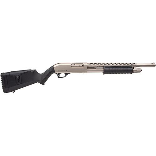 Armscor Rock Island Armory Shotgun - Pump Action - 12 Gauge - Nickel - AGM5