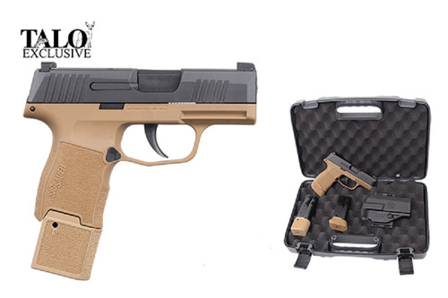 Sig Sauer Pistol - P365 - 9MM - 15 Rd - Coyote TacPac - 798681650897