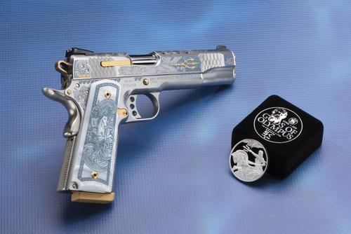 Smith & Wesson Pistol - 1911 E Series - 45 Auto - SK Arms - Poseidon