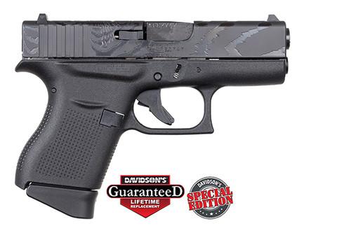 Glock Pistol - 43 - 9MM - Tiger Engraved - DAV-12410
