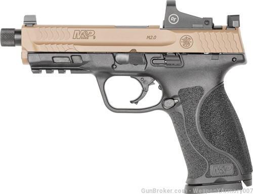 Smith & Wesson Pistol - M&P 2.0 Shield - Spec Series - 9mm - FDE - 13450