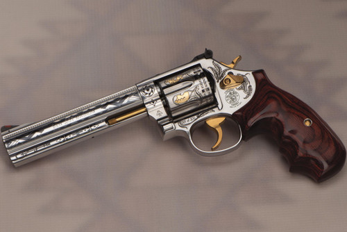Smith & Wesson Revolver - 686|Combat Magnum - 357 - SK Arms - Dreamcatcher