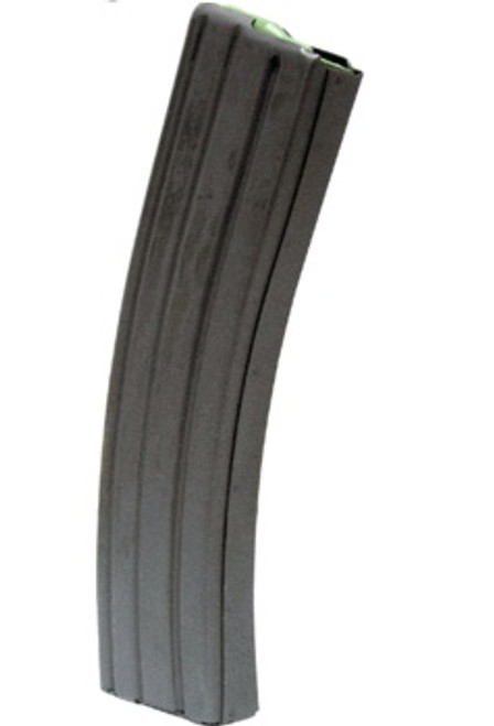 This is a 40 round steel AR-15 magazine .223 / 5.56 with an upgraded no-tilt follower (gray), distributed by Charles Daly Defense.