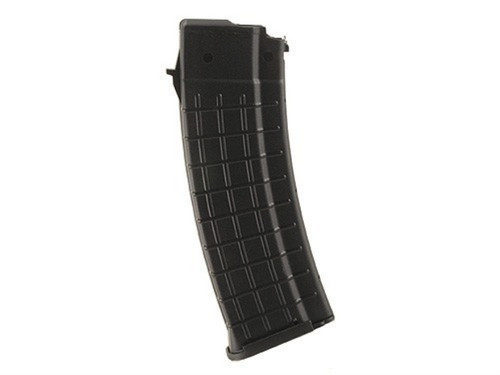 This is a 30 round black polymer AK-47 magazine .223 remington, made by Pro Mag. Also fits Wasr-3.