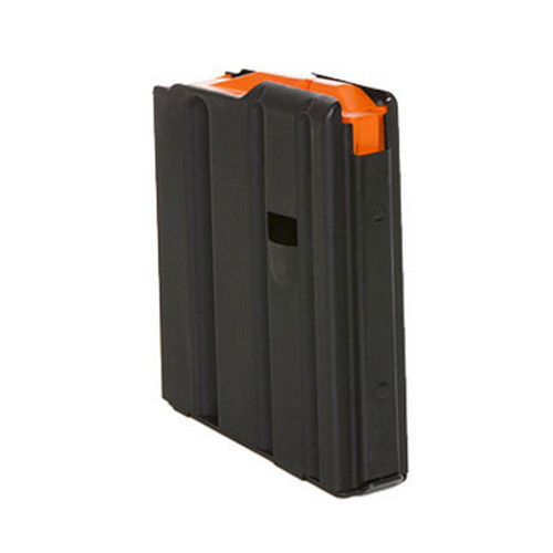 This is a 10 round black steel AR-15 magazine .223 / 5.56, made by C-Products.