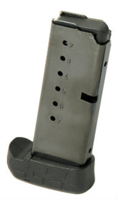 This is an extended 8 round magazine for the Kel-Tec PF9 9mm.
