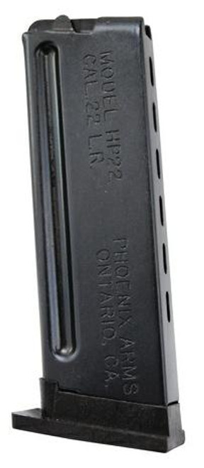 This is a 10 round factory magazine for the Phoenix HP-22 .22 lr.