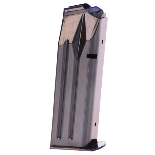 This is a double stack 17 round magazine for the Llama IX full-size 9mm. Also fits 38 super model.