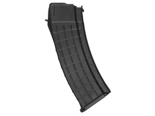 This is a 30 round magazine for the Saiga .223, made by Pro Mag.