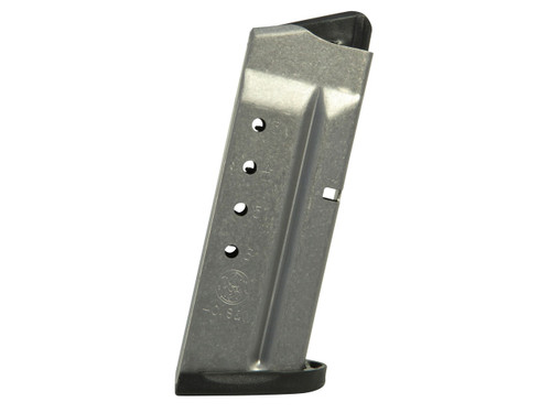 This is a factory Smith & Wesson magazine for the M&P Shield 40s&w, 6 round capacity.