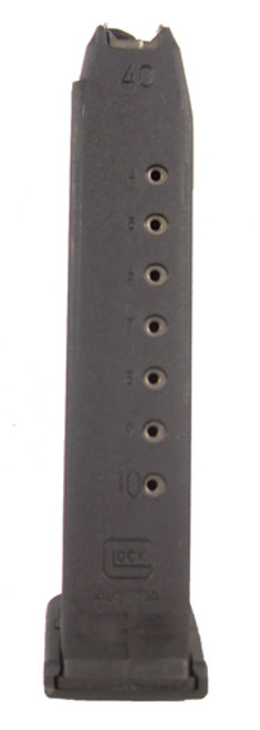 This is a factory Glock magazine for the model G22 40 S&W, 10 round capacity, Gen 4 (dual cut).