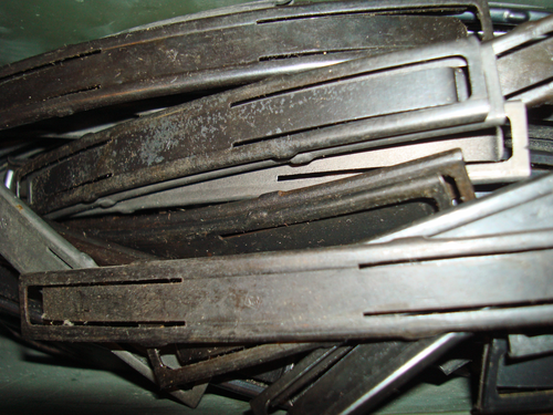 This is a 10 pack of 7.62 x 39mm stripper clips. These are surplus clips and range from poor condition to like-new condition.