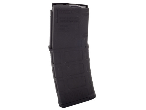 This is a solid black M3 30 round AR-15 magazine .223 / 5.56, made by Magpul.