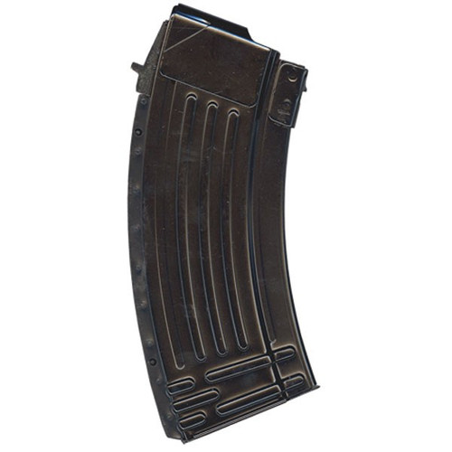 This is a steel AK-47 magazine 7.62 x 39mm, 20 round capacity, made in Korea.