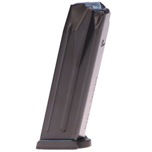 This is a factory HK magazine for the P30 40 s&w, 13 round capacity.