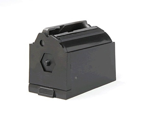 This is a factory Ruger magazine for the 10/22 magnumn, 77/22, 96/22, chambered in .22 magnum, 9 round capacity