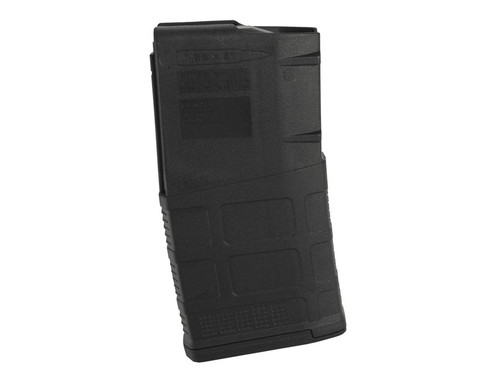 This is an AR-10 magazine 7.62 x 51mm, M3, 20 round capacity, made by Magpul. SR-25 pattern.