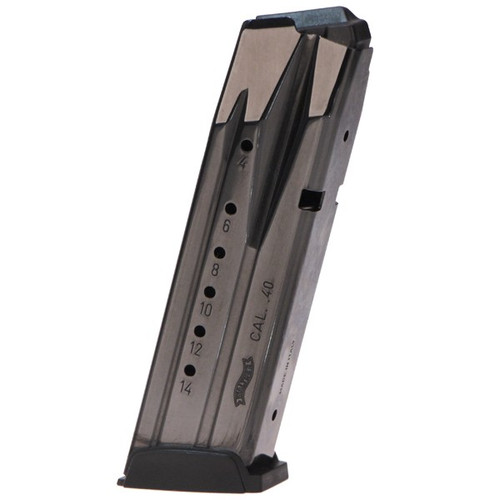This is a factory Walther magazine for the PPX 40 s&w, 14 round capacity.