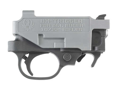 "This is a do it yourself ""drop-in"" trigger assembly for any Ruger 10/22. The BX-Trigger is made by Ruger and will reduce the standard trigger pull weight of 6lbs to 2.5-3.5lbs"
