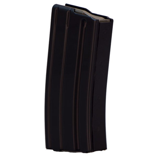 This is a factory AR-15 magazine .223 / 5.56, 20 round capacity, made by Bushmaster.