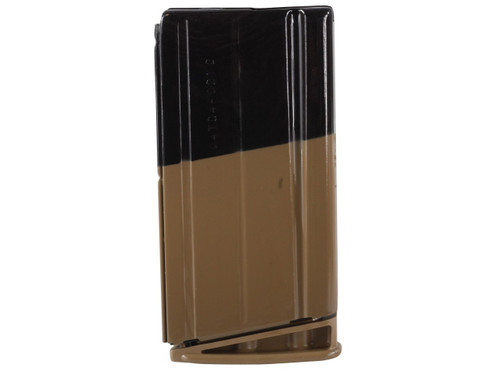 This is a 20 round factory magazine for the FNH SCAR 17S .308, with a flat dark earth (fde) finish.