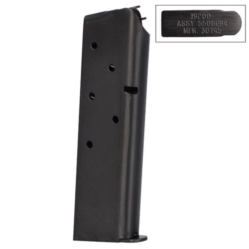 This is a 1911 magazine for the full-size (government) .45 acp, 7 round capacity, exact same mag that is GI issued.