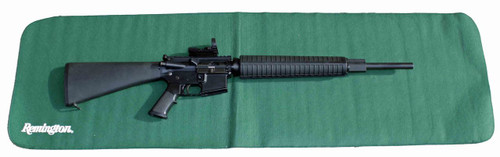 The Remington Rem Pad is a large gun cleaning mat that measures 16in. x 54in.