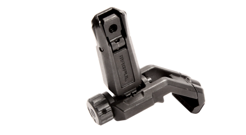 This is a genuine Magpul MBUS Pro Offset rear sight that will fit any picatinny rail system. It is constructed from Melonited steel to ensure years of reliable use.