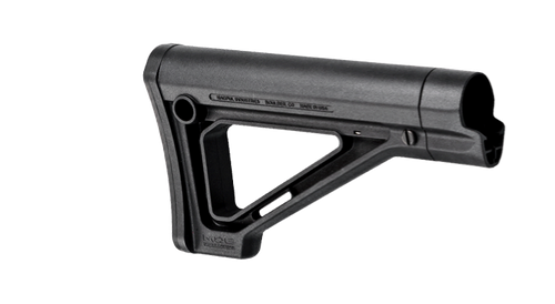 This is a genuine Magpul MOE Fixed Stock for Mil-Spec models, the color is black.