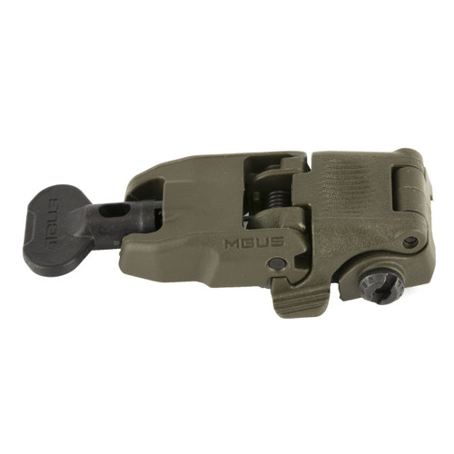 This is a Magpul MBUS Front Sight, in the OD Green color.
