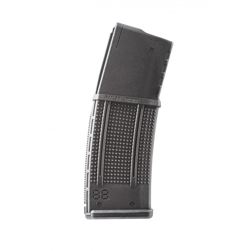 This is a AR-15 magazines for rifles chambered in .223 / 5.56, 30 round capacity made by ProMag, RollerMag.