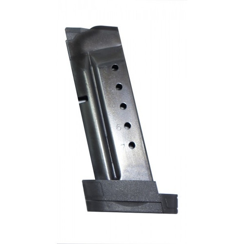 This is an extended Smith & Wesson magazine for the M&P Shield 40 s&w, 7 round capacity, made by ProMag.
