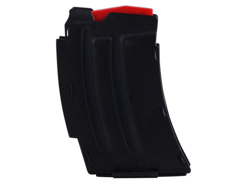 This is a 5 round factory magazine for the Savage MKII series rifle chambered in .22 long rifle, or 17 mach 2.