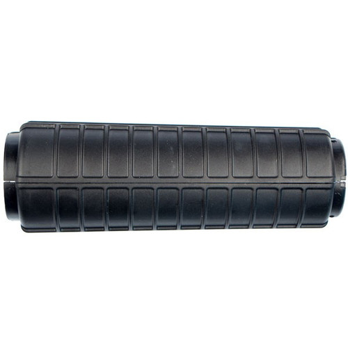 This is an AR-15 handguard, made from heat resistant polymer in black.