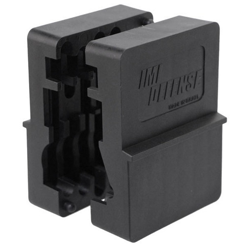 This is an upper receiver polymer vice block, made by IMI Defense.